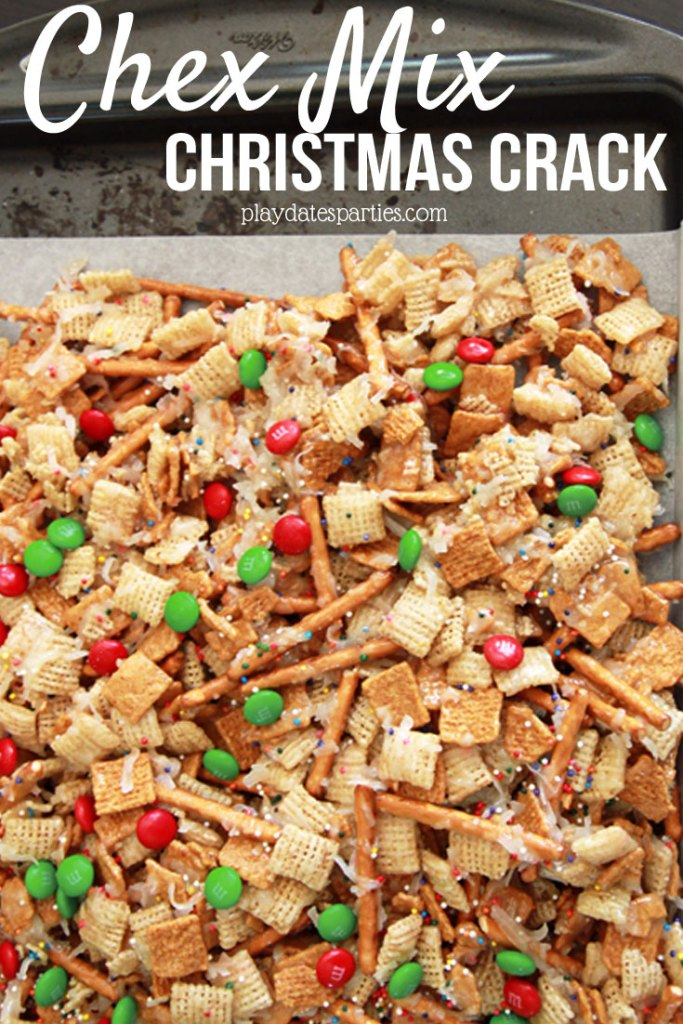 Chex Mix Candy (a.k.a. Christmas Crack) is the a perfect sweet and salty treat that is full of ooey, gooey yumminess that you and your family will just love.