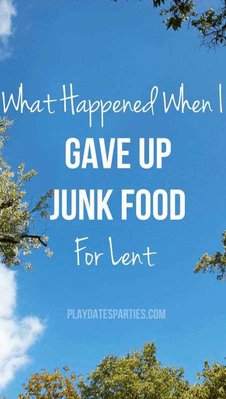 Sometimes it's so easy to mindlessly eat the junk food around you. Find out what happened when I gave up junk food for Lent one year. Did the cravings go away? Did I lose weight?