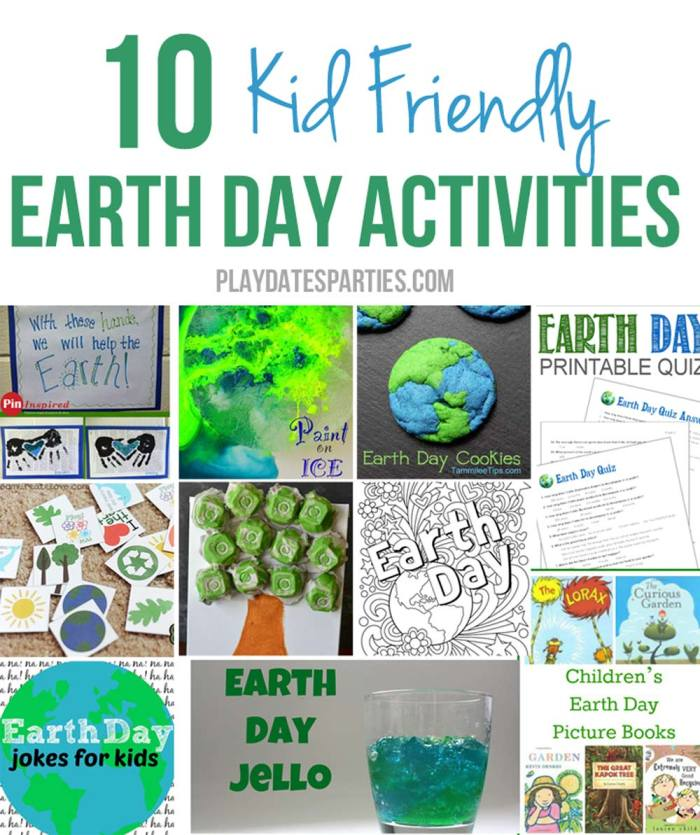 Looking for fun ways to celebrate Earth Day as a family? Take a look at these 10 kid-friendly Earth Day activities that will be fun for all ages, including ice painting, handprint art, baking, recycling, coloring pages, printables and more!