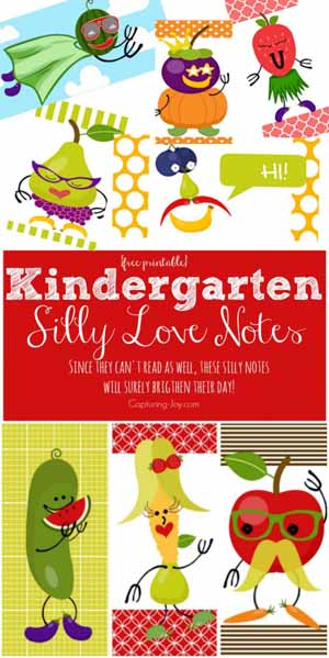Kindergarten Love Notes Kristen Duke Photography