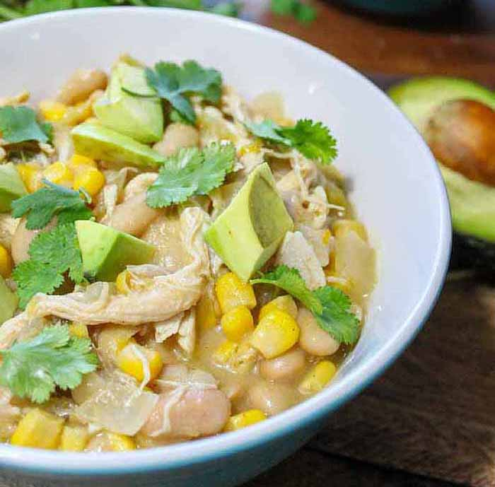 The Fit Blog slow-cooker-white-chicken-chili-1