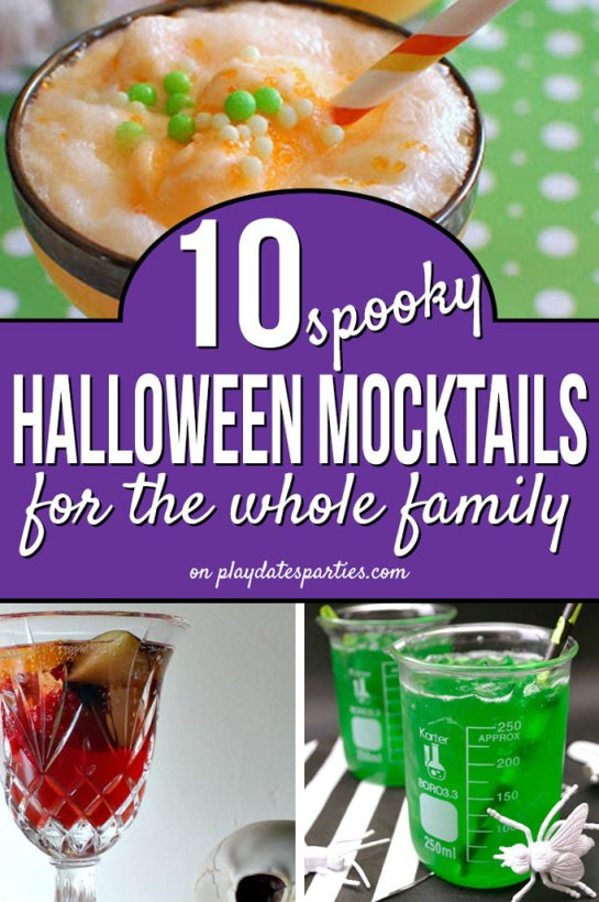 10 Halloween Mocktails for the Whole Family by From Play Dates to Parties