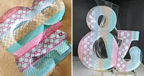 Take a look at these 15 washi tape party crafts to get started creating an amazing party with one of the most economical and versatile supplies available.