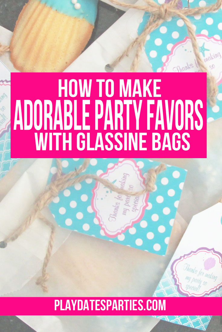 How to Make Adorable Party Favors with Glassine Bags