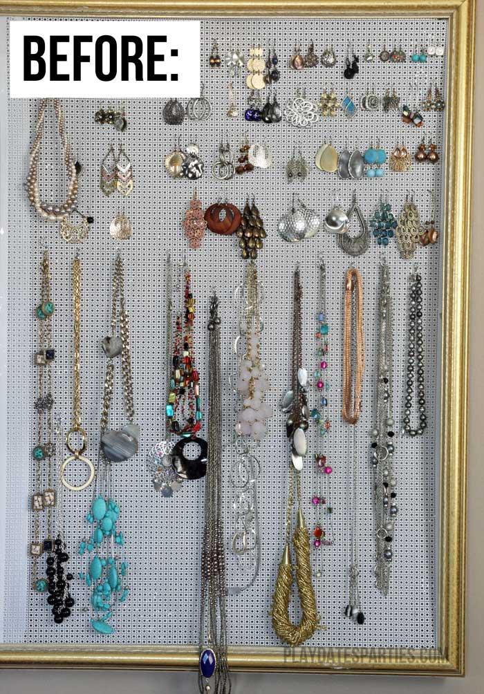DIY-Jewelry-Organizer-Before