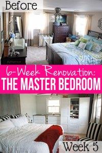 Master Bedroom Renovation Week 5: Racing to the Deadline