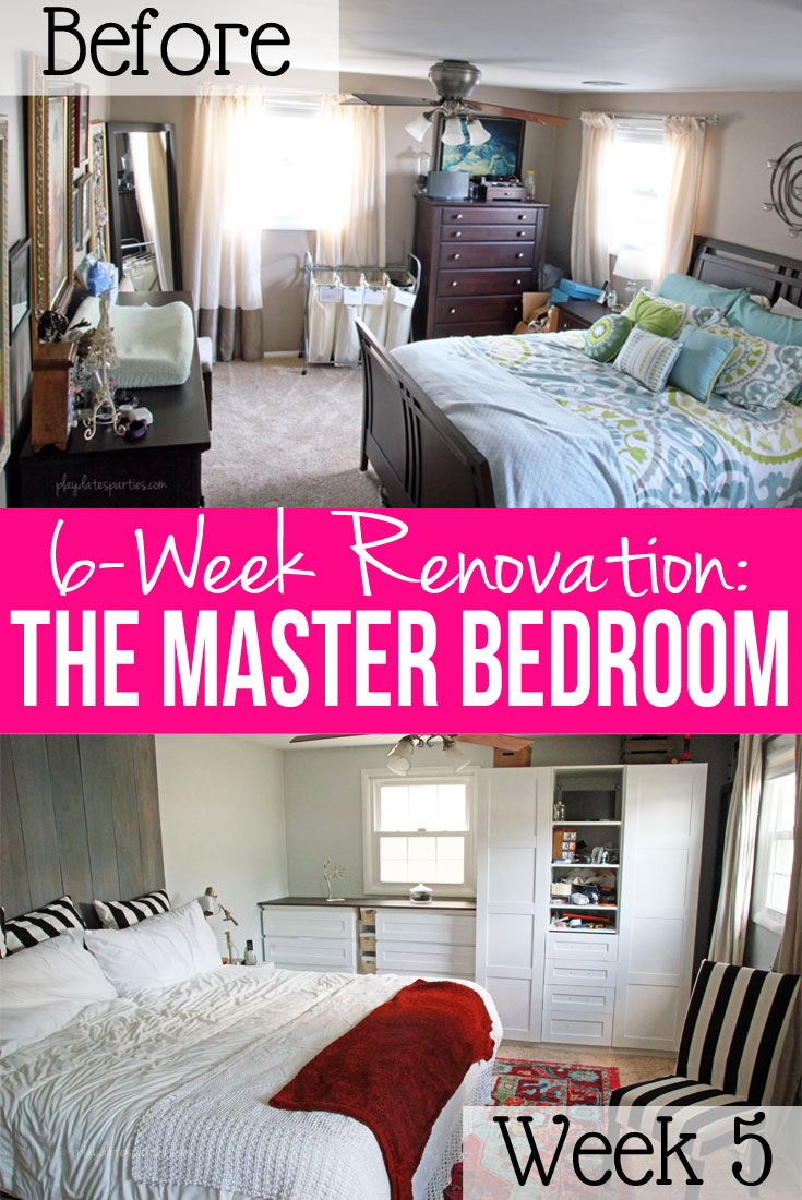 Master Bedroom Renovation Week 5: Racing to the Deadline