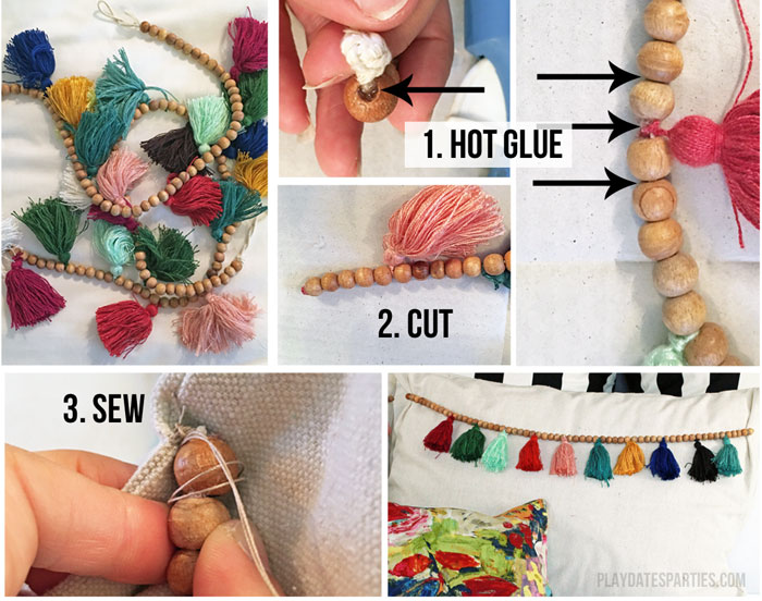Steps-for-How-to-Make-Tassel-Trim-Pillows
