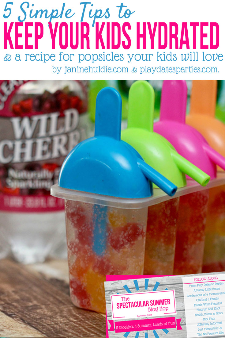 5 Sure-Fire Ways to Keep Your Kids Hydrated in Hot Weather