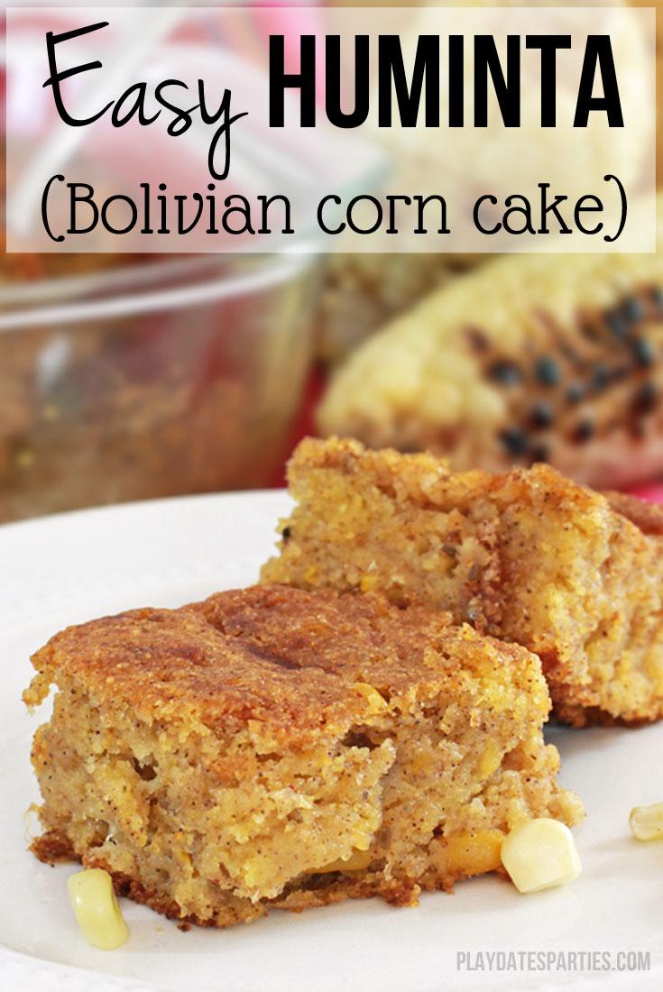 How to Make Bolivian Corn Cake (Easy Huminta)