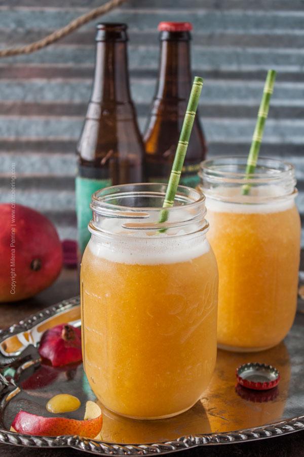IPA Mango Slushie from Craft Beering.