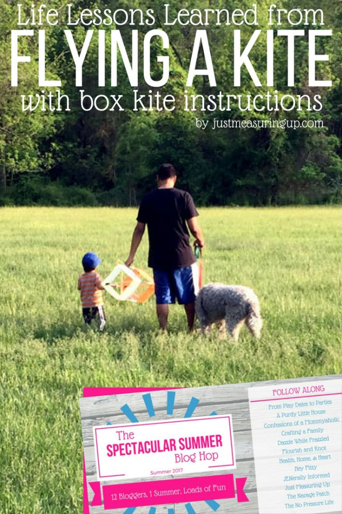 Kids love to fly kites during the summer. But little do they know, they're not just having fun, they're learning plenty of life lessons flying a kite, too!