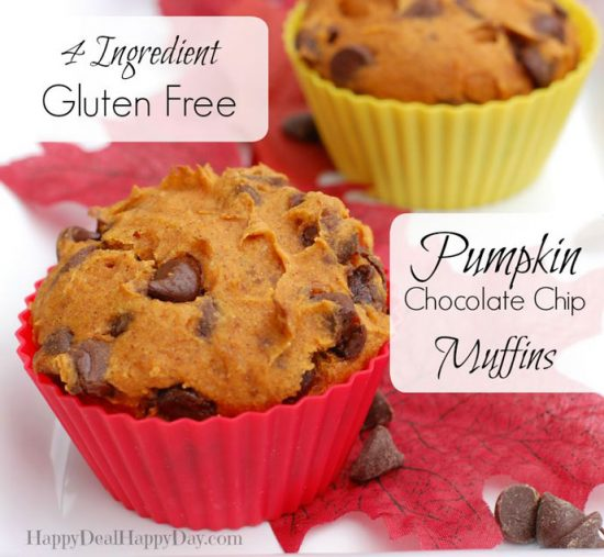 Gluten Free Pumpkin Muffinsby Happy Deal Happy Day