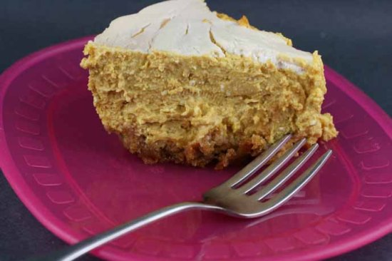 Slow Cooker Pumpkin Cheesecakeby A Year of Slow Cooking