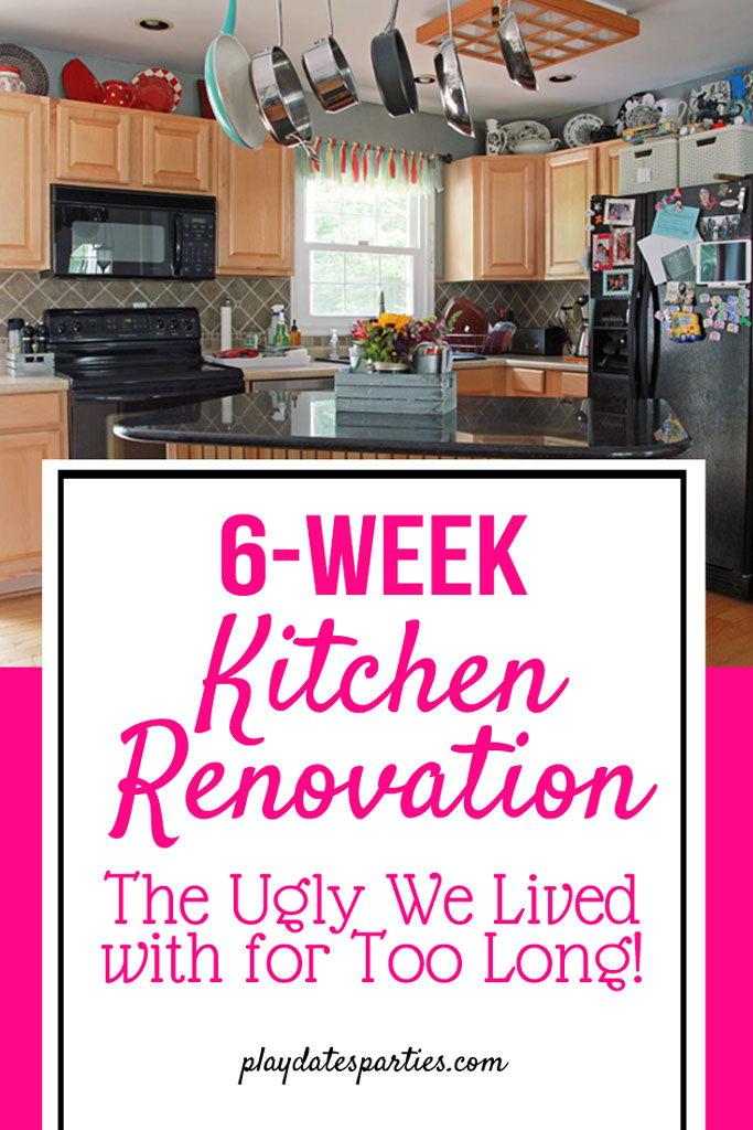 Can a 6-week kitchen renovation actually be done? Find out why we're in this situation and see all the gory before pictures as we take on a 42 day #renovation challenge! #oneroomchallenge #before