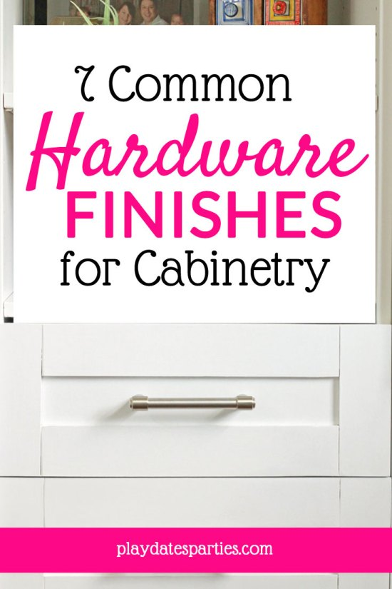 The 7 Most Common Cabinet Hardware Finishes