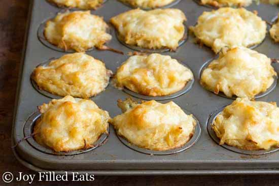 Appetizers for a Fall Party: French Onion Tartlets by Joy Filled Eats