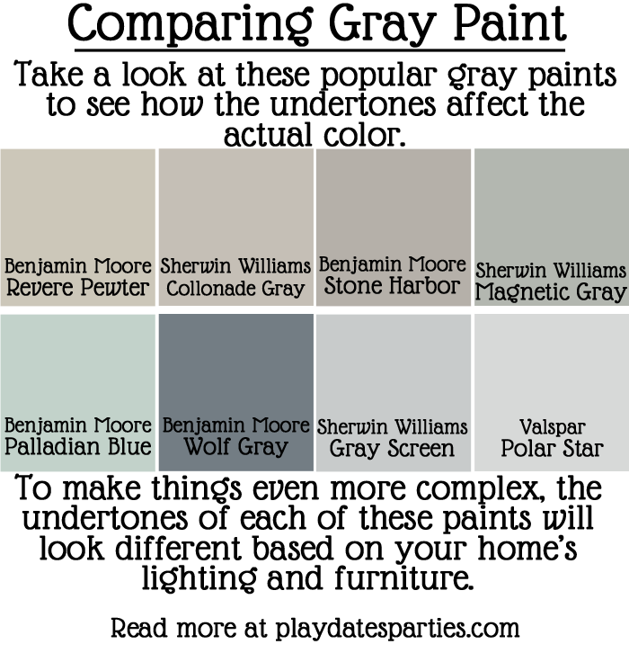 how to pick gray paint that works for your home. Black Bedroom Furniture Sets. Home Design Ideas