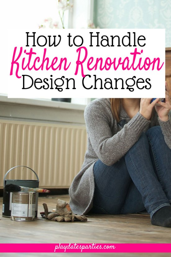 When Your Kitchen Renovation Design Changes