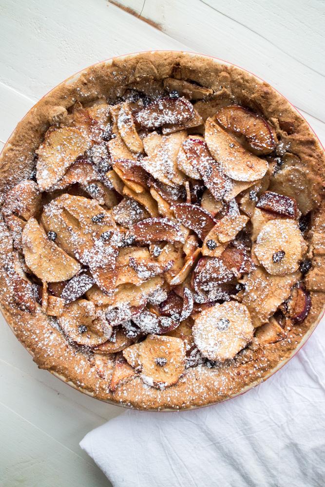 Gluten Free Sugar Plum Apple Currant Pie From Brooklyn Farm Girl.