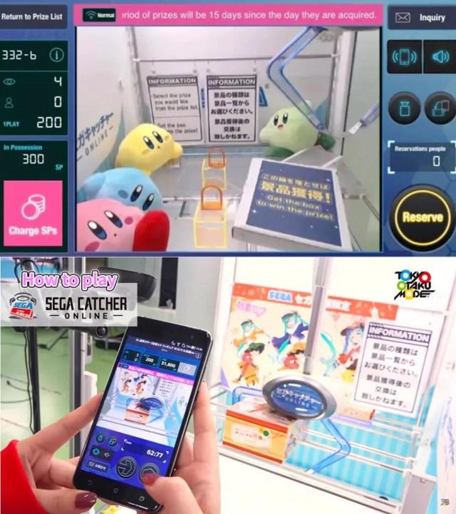 SEGA CATCHER ONLINE: la app que te permite jugar 'máquinas gancho' a distancia