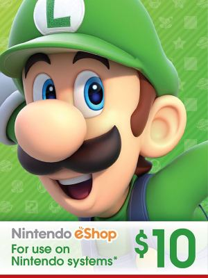 eShop Card de $10 – Código Digital