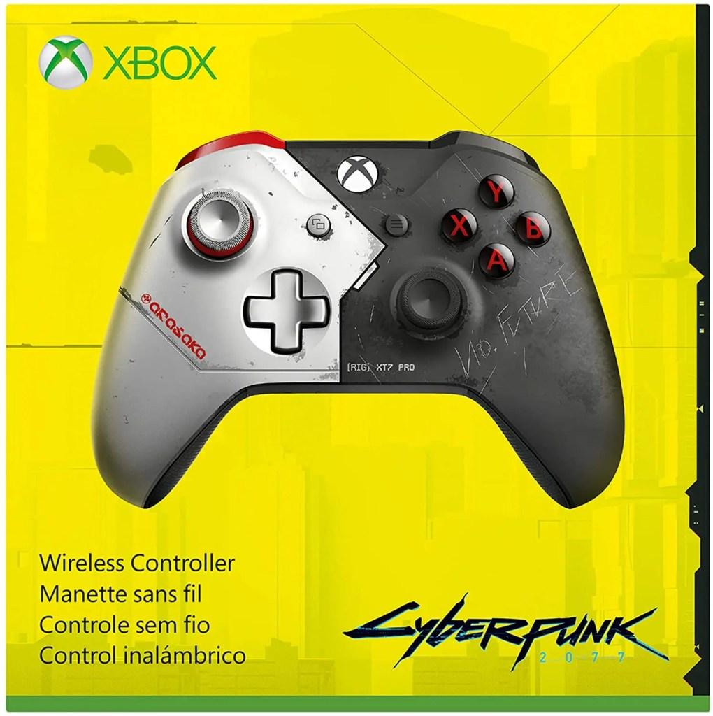 Se filtra control de edición limitada de Cyberpunk 2077 para Xbox One