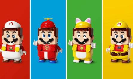 LEGO Super Mario Power-Up Packs te permite cambiar la apariencia de Mario