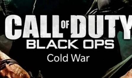 Según rumores, Call of Duty 2020 se llamará Black Ops Cold War