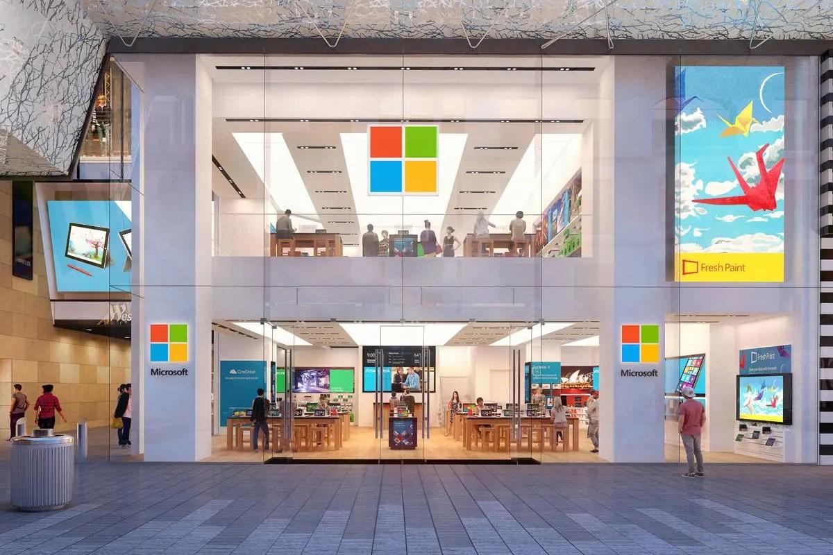 Microsoft está cerrando casi todas sus tiendas minoristas de forma permanente