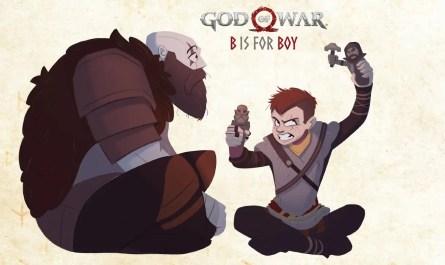 God of War: B is for Boy es un nuevo libro de cuentos de ABC que no es del todo amigable para los niños