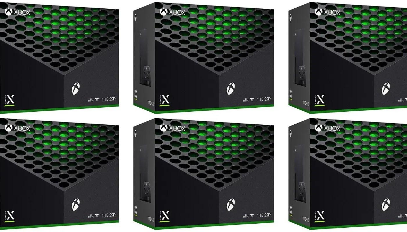 Se revela la caja minorista de Xbox Series X