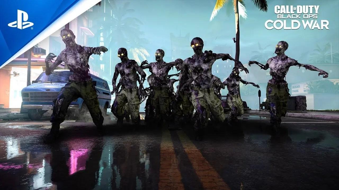 El modo Zombies Onslaught de Call of Duty: Black Ops -  Cold War es exclusivo de PlayStation por 12 meses