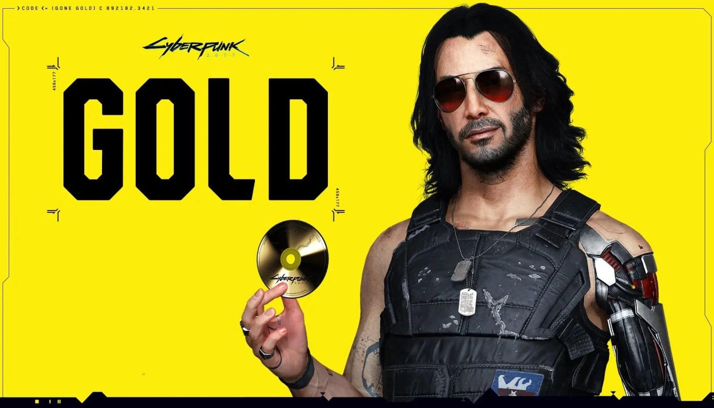 Cyberpunk 2077 ya es oficialmente gold