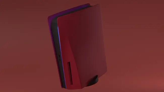 Las placas frontales personalizadas para PS5 ya están a la venta: azul, negro mate, cromado, camo y rojo disponibles