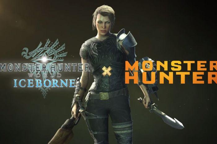 Milla Jovovich llega a Monster Hunter World: Iceborne en un evento cruzado con la película