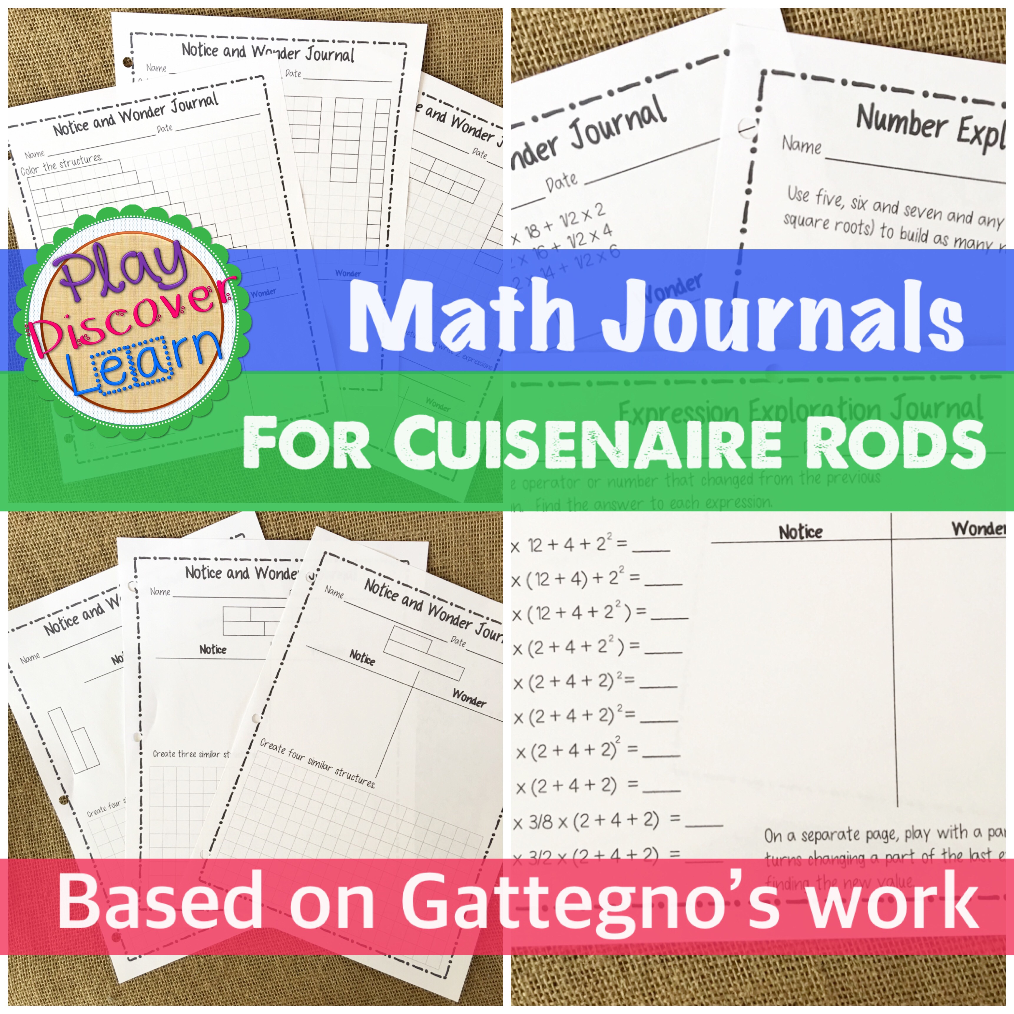 cuisenaire rod algebra activities