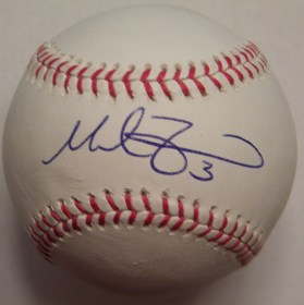 Mike Zunino Signed OMLB