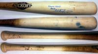 Mike Zunino Signed Minor League Game Used Bat – Uncracked Blonde Old Hickory MZ13