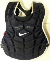 Mike Zunino Signed Game Used Chest Protector