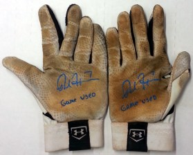 Rosell Herrera Game Used Batting Gloves