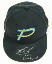 Jorge Alfaro Game Used Myrtle Beach Pelicans Hat