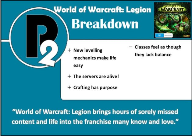 World of Warcraft: Legion - Review