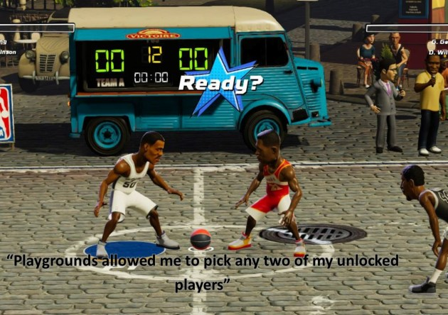 NBA Playgrounds - Review