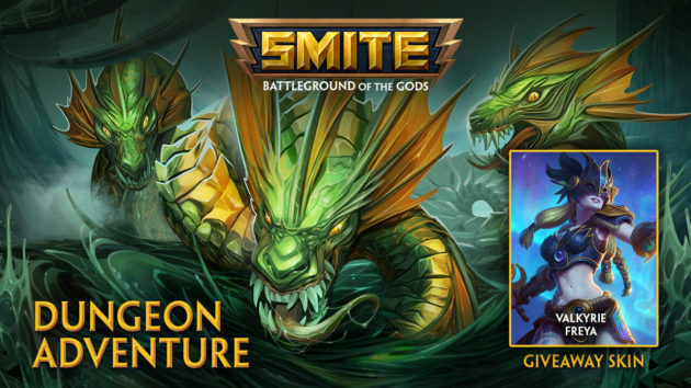SMITE Gets PvE - Giveaway
