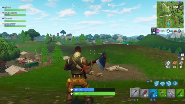 Fortnite Switched On