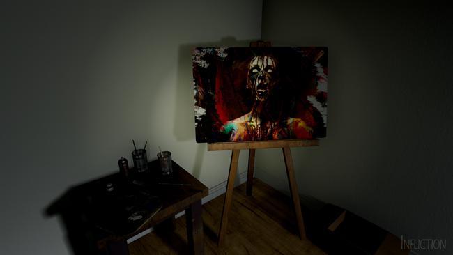 Infliction Painting