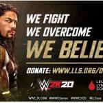 WWE 2K20 To Help Leukaemia and Lymphoma Society
