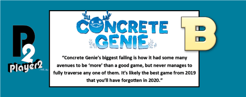 Concrete Genie - Paint Stretched (Beautifully) Thin