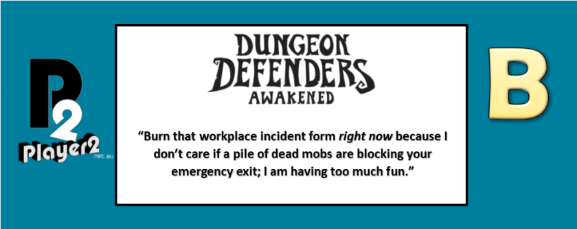 Dungeon Defenders: Awakened - Taking Towers to an Orc Fight